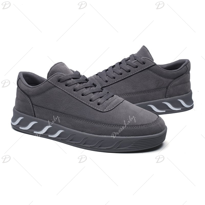The New Thick Men'S Shoes - GRAY 43