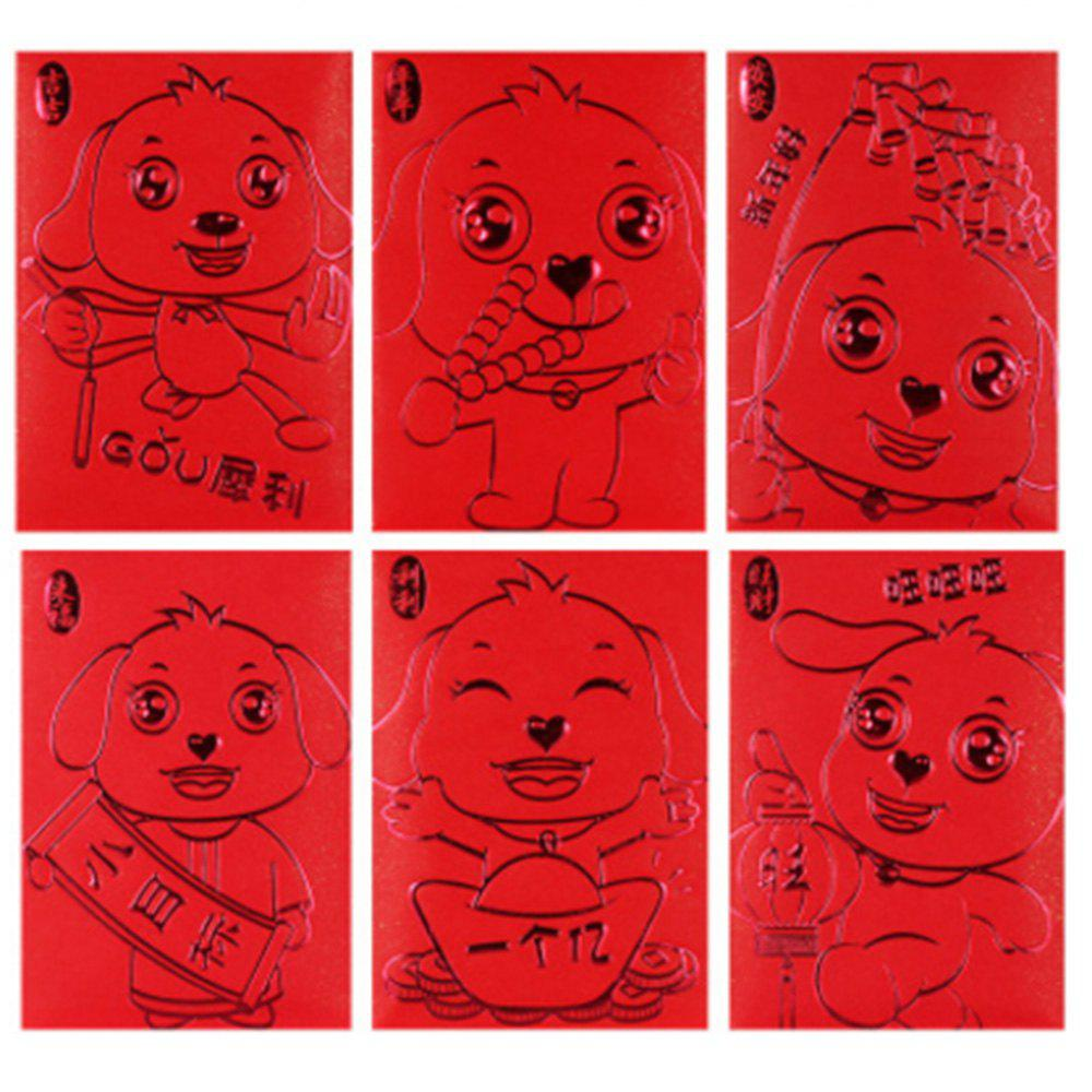 Red Dog Red Bag Gift Money and Creative Personality Is A Large Wholesale Company 24 - RED TUBA