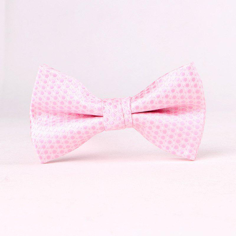 Men'S Lounge Jacquard Tie - PINK
