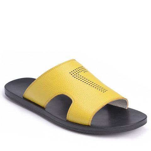 Leisure Sandals Beach Shoes for Men - MAIZE 42