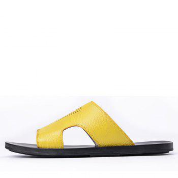 Leisure Sandals Beach Shoes for Men - MAIZE 41