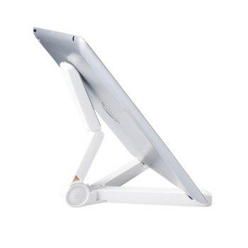 Universal 360 Degree Rotating Folding Portable Stand Holder - WHITE WHITE