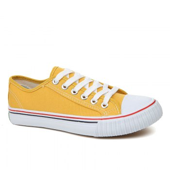 Hk Shoes Mens Black And Yellow