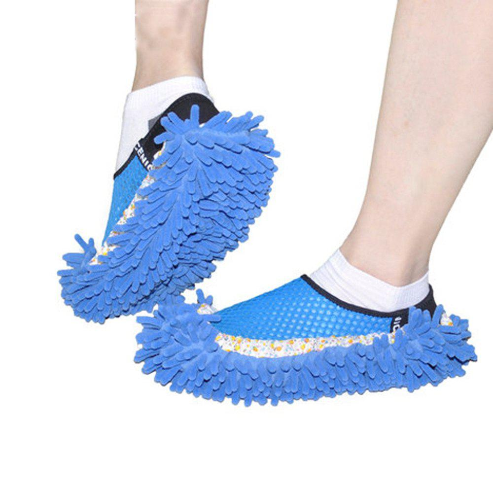 Lazy Cleaning Slippers Shoe Cover - BLUE