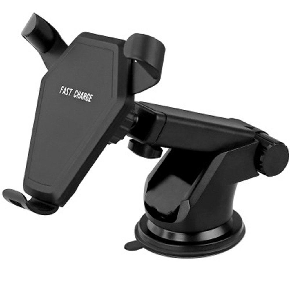 Wireless Car Charger for Qi-devices - BLACK
