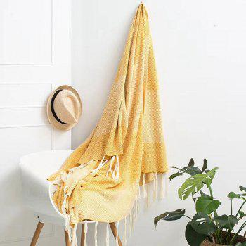 Sofa Leisure Tassel Knitted Cotton Blanket -  DAISY