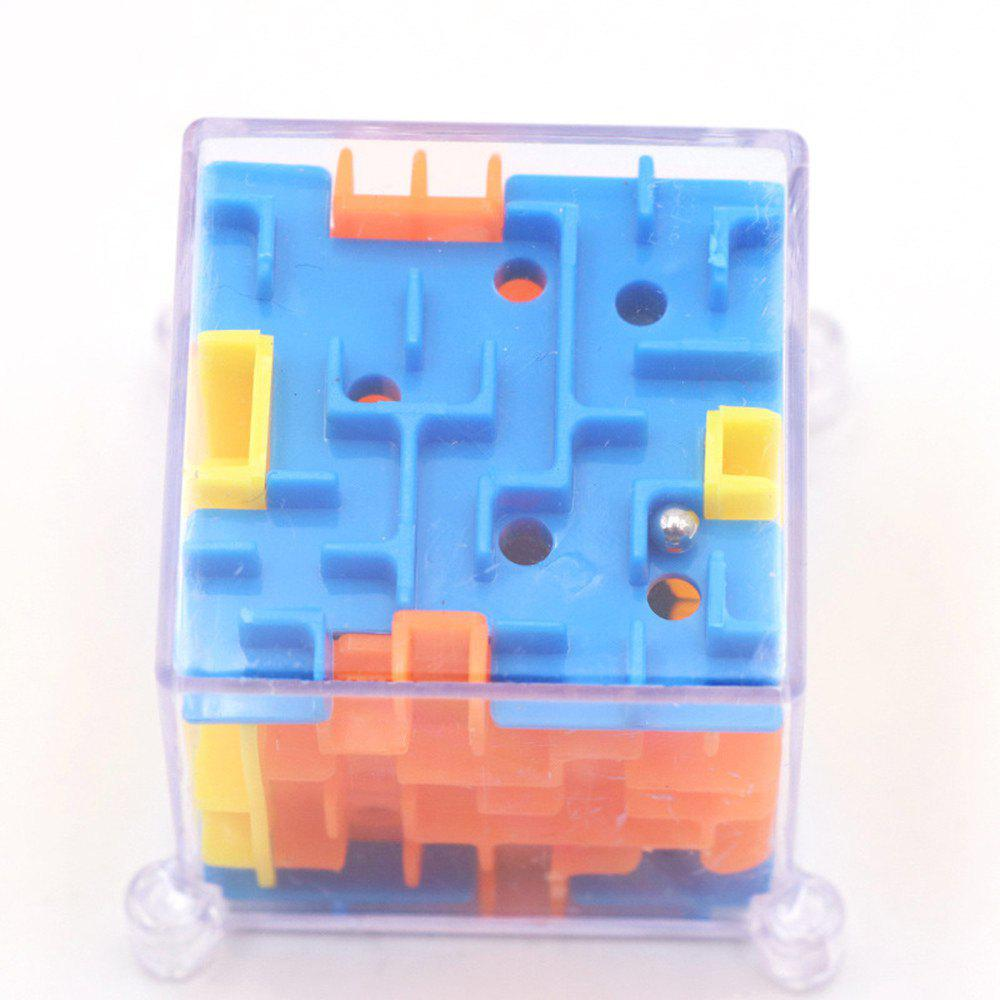 Funny 3D Maze Magic Cube Puzzle Speed Game Labyrinth Ball Educational Toys new 3d spherical maze magic puzzle ball educational magic intellect ball puzzle balance game magnetic balls for kids 100 steps