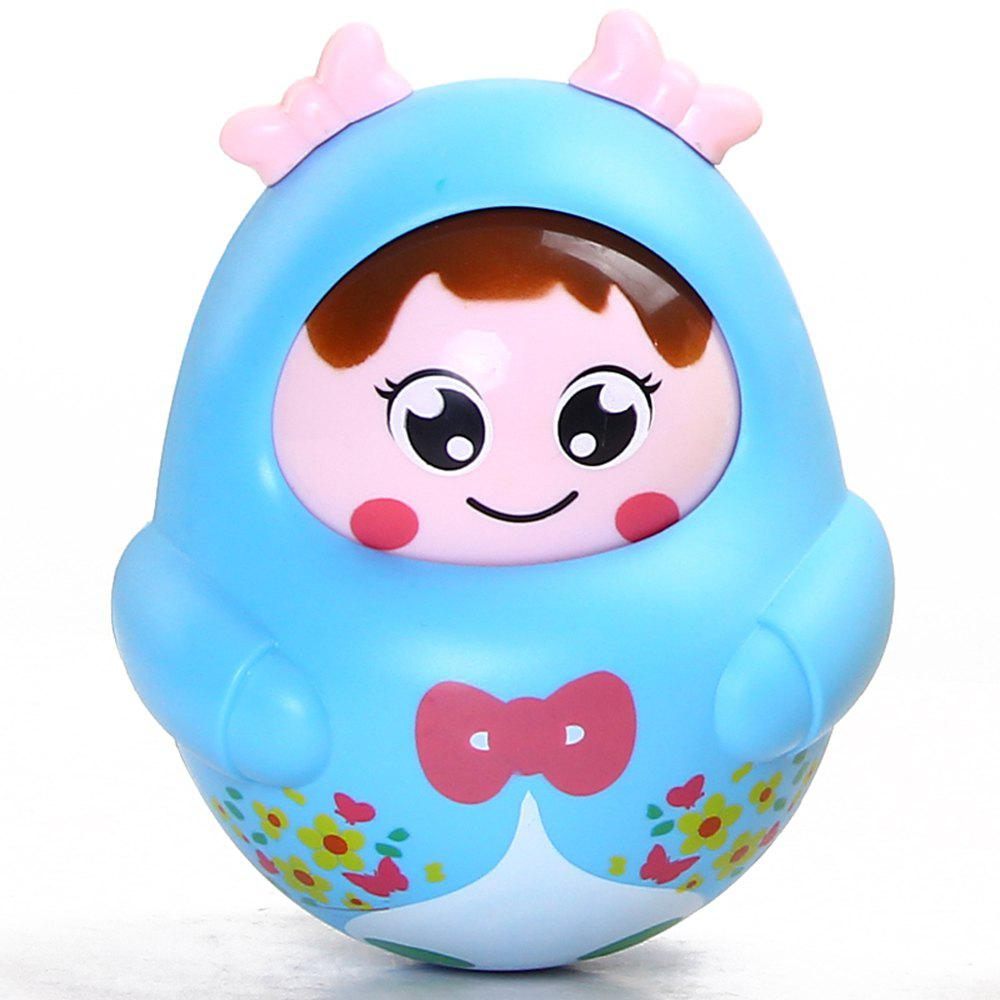 Cartoon Girl Image Doll Roly-poly Intelligent Toy for Children 55cm silicone reborn baby doll toy lifelike npkcollection baby reborn doll newborn boys babies doll high end gift for girl kid