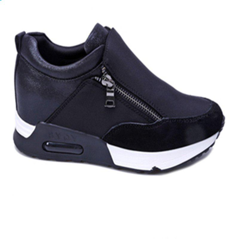 Double - zipper Sport Casual Women's Shoes