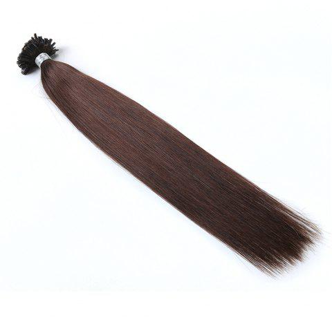 Basic colors Straight U Tip Hair Extensions Remy Hair in fusion hair Extensions 100pcs/pack - 4 16INCH