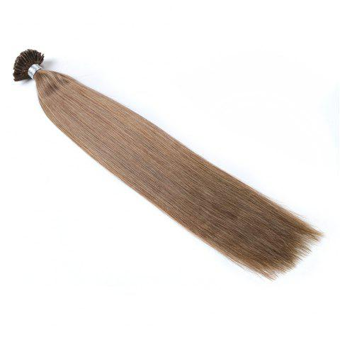 Basic colors Straight U Tip Hair Extensions Remy Hair in fusion hair Extensions 100pcs/pack - 8 20INCH