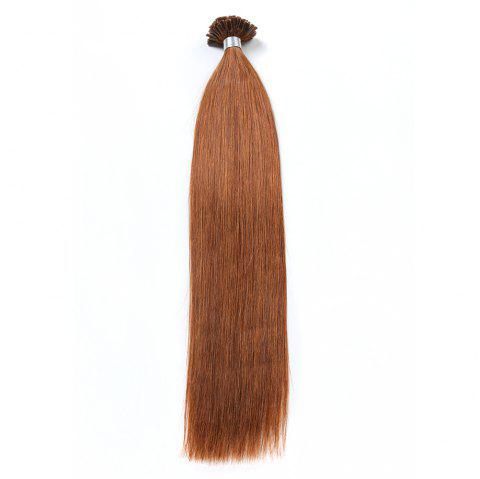 Basic colors Straight U Tip Hair Extensions Remy Hair in fusion hair Extensions 100pcs/pack - 10 16INCH