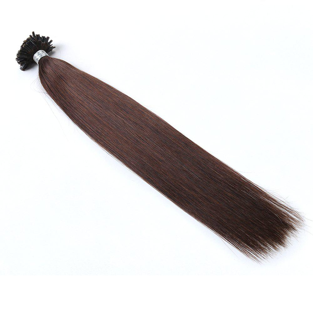 Basic colors Straight U Tip Hair Extensions Remy Hair in fusion hair Extensions 100pcs/pack -  24INCH