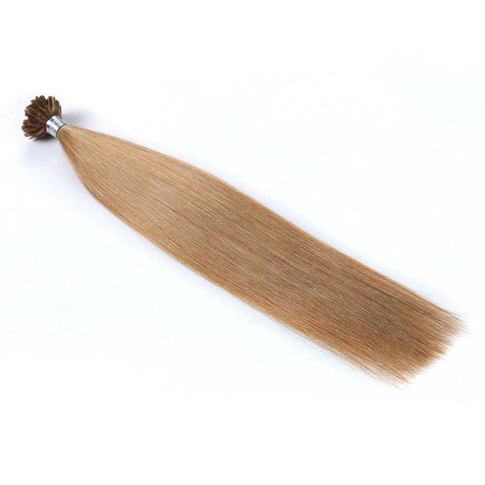 Light colors Straight U Tip Hair Extensions Remy Hair in fusion hair Extensions 100pcs/pack -  20INCH