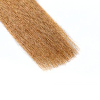 M.Light Colors Straight I Tip Hair Extensions Remy Hair in Fusion Hair Extensions 200pcs/pack -  24INCH