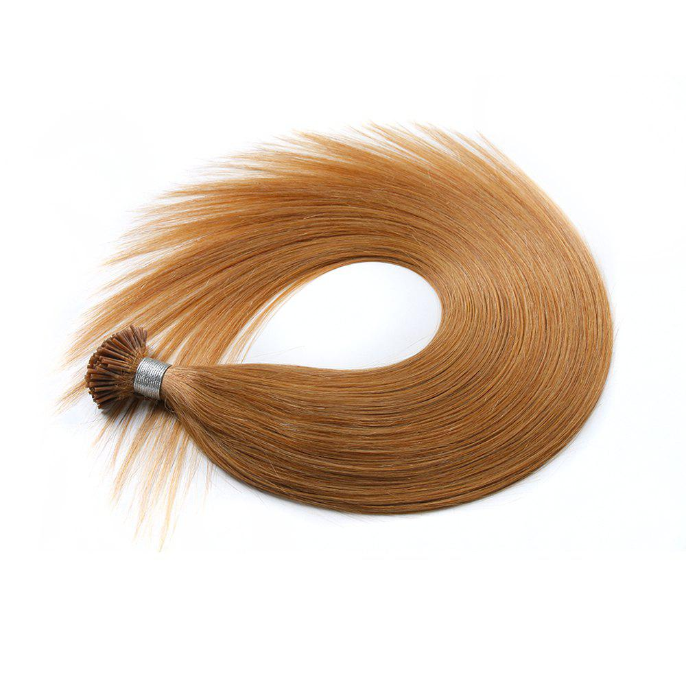 M.Light Colors Straight I Tip Hair Extensions Remy Hair in Fusion Hair Extensions 200pcs/pack -  16INCH
