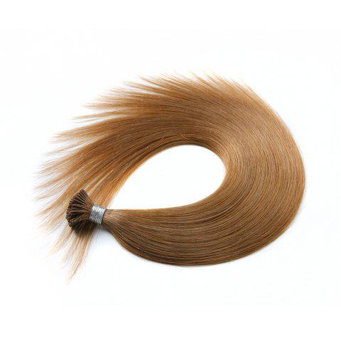 Light colors Straight I Tip Hair Extensions Remy Hair in fusion hair Extensions 200pcs/pack - 16 24INCH