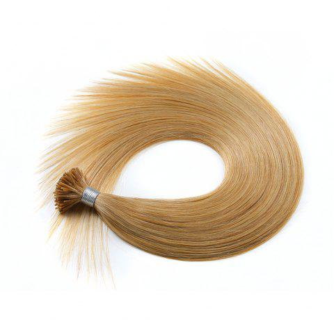 Light colors Straight I Tip Hair Extensions Remy Hair in fusion hair Extensions 200pcs/pack - 18 20INCH