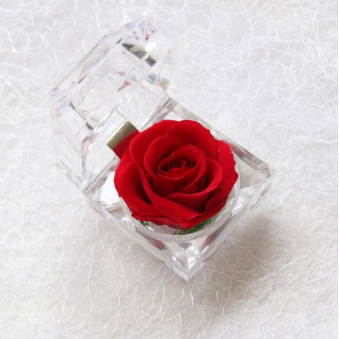 Handmade Preserved Fresh Rose Upscale Immortal Flowers Gifts for Mother Day Valentine Day .