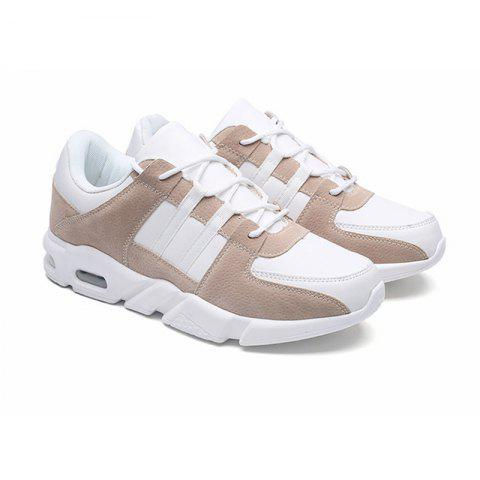 Spring and Autumn Casual Sport Shoes - BROWN 39