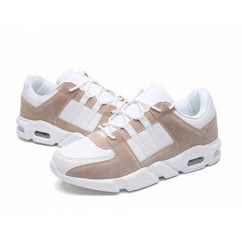Spring and Autumn Casual Sport Shoes - BROWN 44
