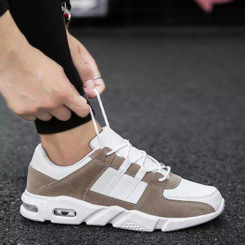 Spring and Autumn Casual Sport Shoes - BROWN 40