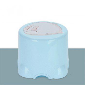 Table Stool Plastic Stool The Bathroom Stool In Shoes Stool The Chair Sofa - BLUE BLUE