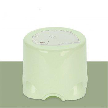 Table Stool Plastic Stool The Bathroom Stool In Shoes Stool The Chair Sofa - GREEN GREEN