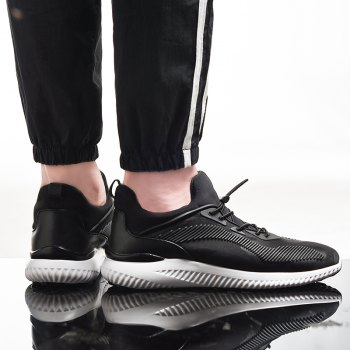 New Fashion Sport Sneakers - BLACK BLACK