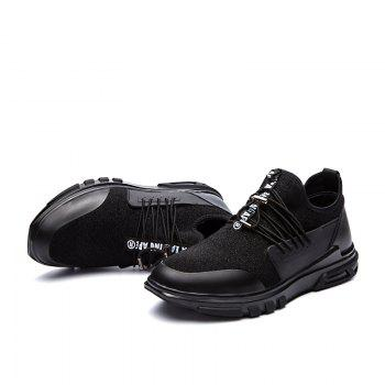 New Men'S Fashion Personality Sports Shoes - BLACK 41