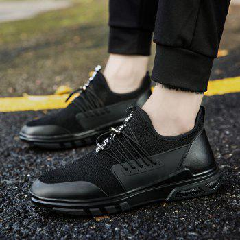 New Men'S Fashion Personality Sports Shoes - BLACK 40