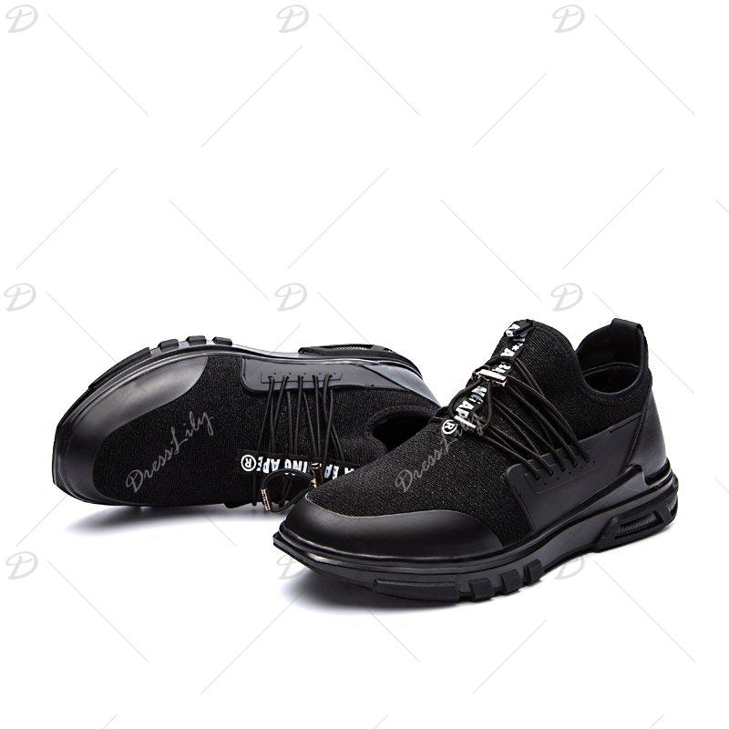 New Men'S Fashion Personality Sports Shoes - BLACK 43