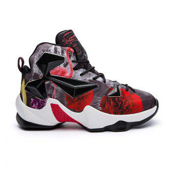 New Fashion Basketball Shoes - BLACK AND RED BLACK/RED