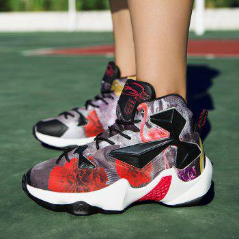 New Fashion Basketball Shoes - BLACK/RED 41