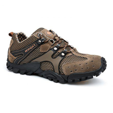 New Men'S Fashion Travel Shoes - KHAKI 42