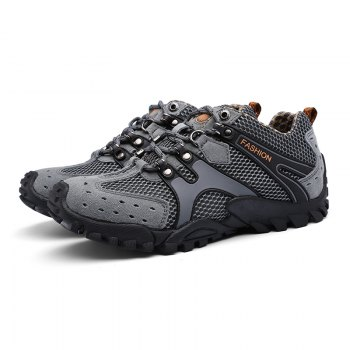 New Men'S Fashion Travel Shoes - GRAY 44