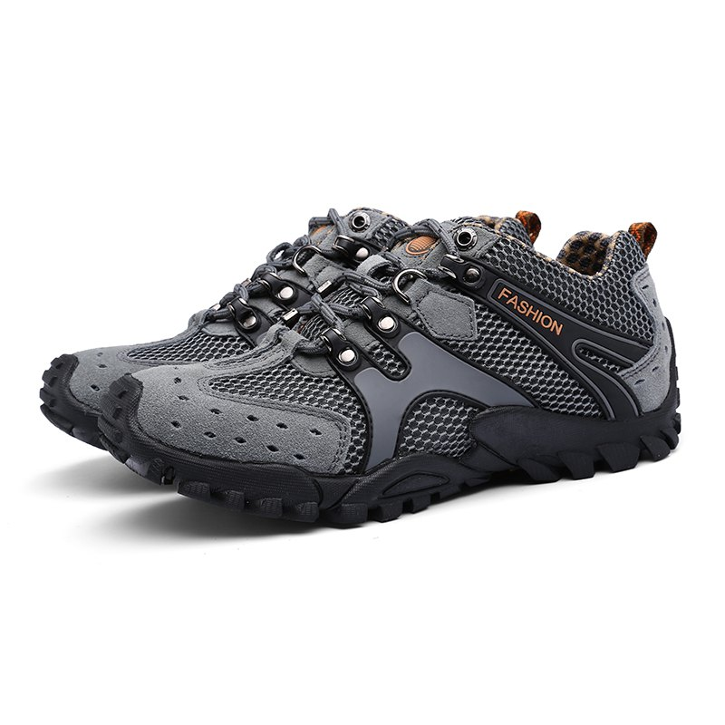 New Men'S Fashion Travel Shoes - GRAY 42