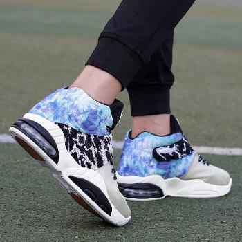 New Fashion Breathable Sports Running Shoes - STONE BLUE 39