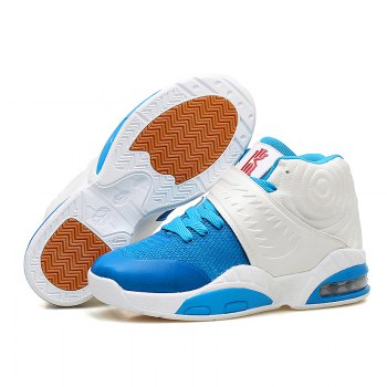 New Fashion Breathable Sports Running Shoes - BLUE WHITE 39