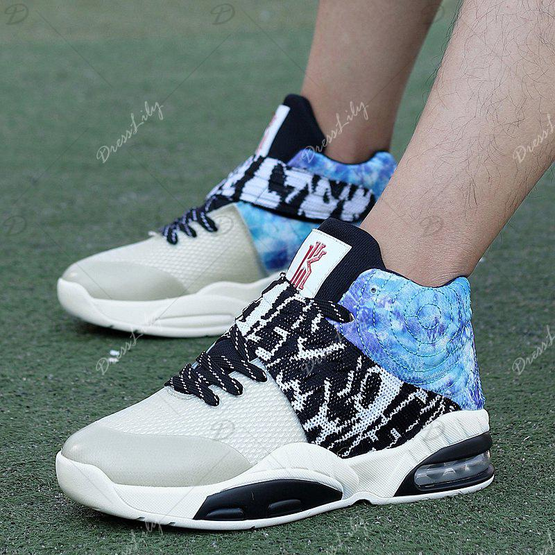 New Fashion Breathable Sports Running Shoes - STONE BLUE 41