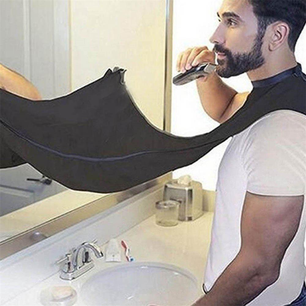 New Fashion Style High Quality DIY Personal Cloth Shaving Wai Cloth Dye Hair Cloth Scarf Shave The Beard Barber Wai Scar - BLACK