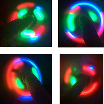 Spinner Finger Toy  with LED Light Stress Reducer Relieve Anxiety - ROYAL