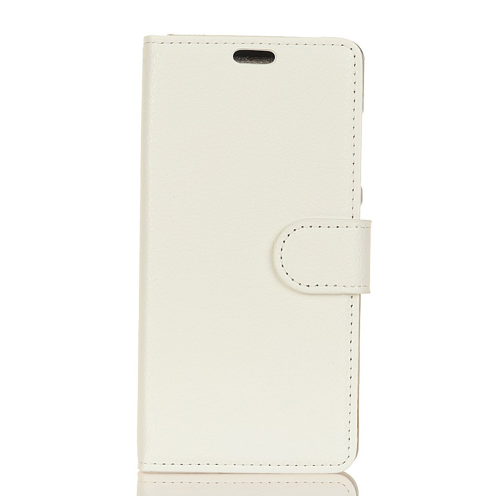 Cover Case for Huawei Nova 2S Pure Color Litchi Leather - WHITE