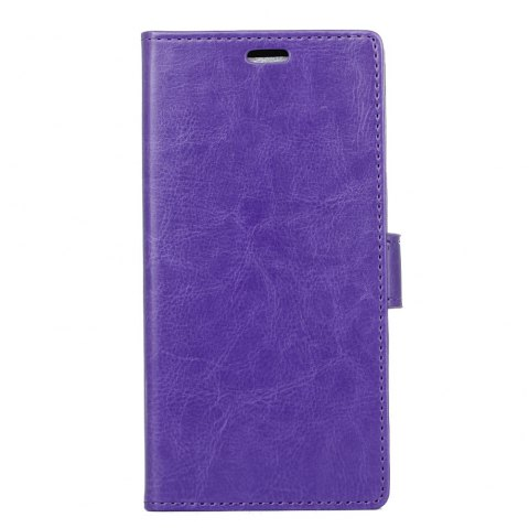 Cover Case for Huawei Nova 2S Pure Color Crystal Texture Leather - PURPLE