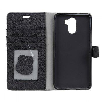 Cover Case for Samsung Galaxy S9 PLUS Solid Color Business Leather - BLACK