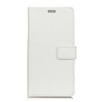 Cover Case for Samsung Galaxy S9 PLUS Solid Color Business Leather - WHITE