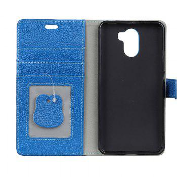 Cover Case for Samsung Galaxy S9 PLUS Solid Color Business Leather - BLUE