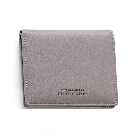 6130683a4803 Women Lovely Zipper Hasp Wallet Short Fashion Lady Portable Small Solid  Color PU Leather Change Purse