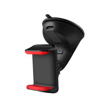 Multi-function silicone sucker vehicle mounts - BLACK AND RED BLACK/RED