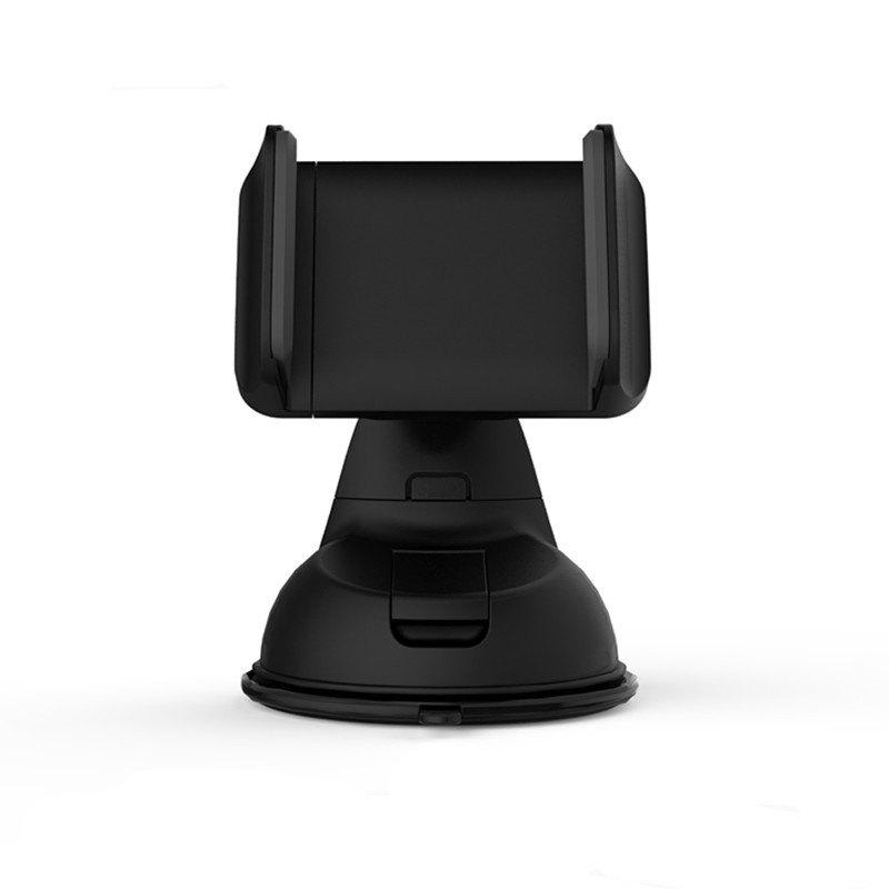 Multi-function silicone sucker vehicle mounts - BLACK